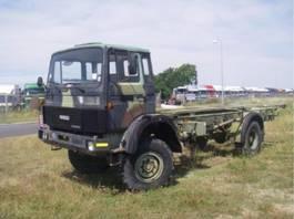 leger vrachtwagen Magirus 168 M 11 FAL 4X4 168 HK 4X4.LONG MODEL.4134 1982