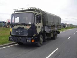 leger vrachtwagen MAN 13-192 F IC 4X2 EX-ARMY. 1992