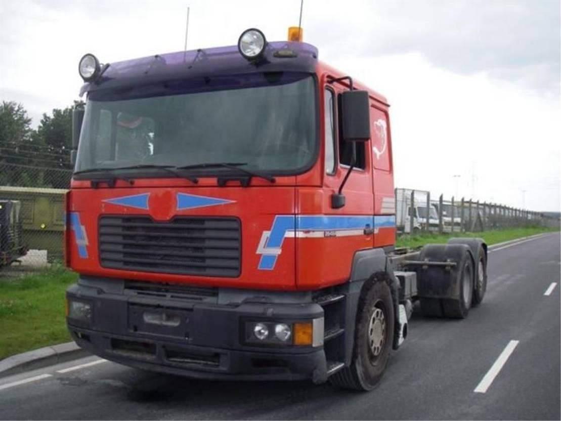 chassis cabine vrachtwagen MAN 26-464 FN LLCG 6X2. 1999
