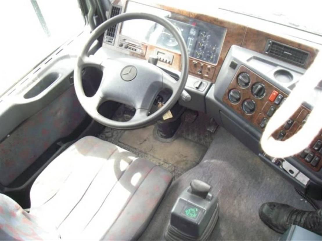 chassis cabine vrachtwagen Mercedes-Benz Actros 2548 ACTROS 2548 L 6X2 MEGA SPACE. 1999