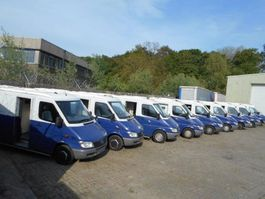 geldtransporter truck Mercedes-Benz Sprinter 21 PIECES 313 / 413 Armoured CIT money transport 2004