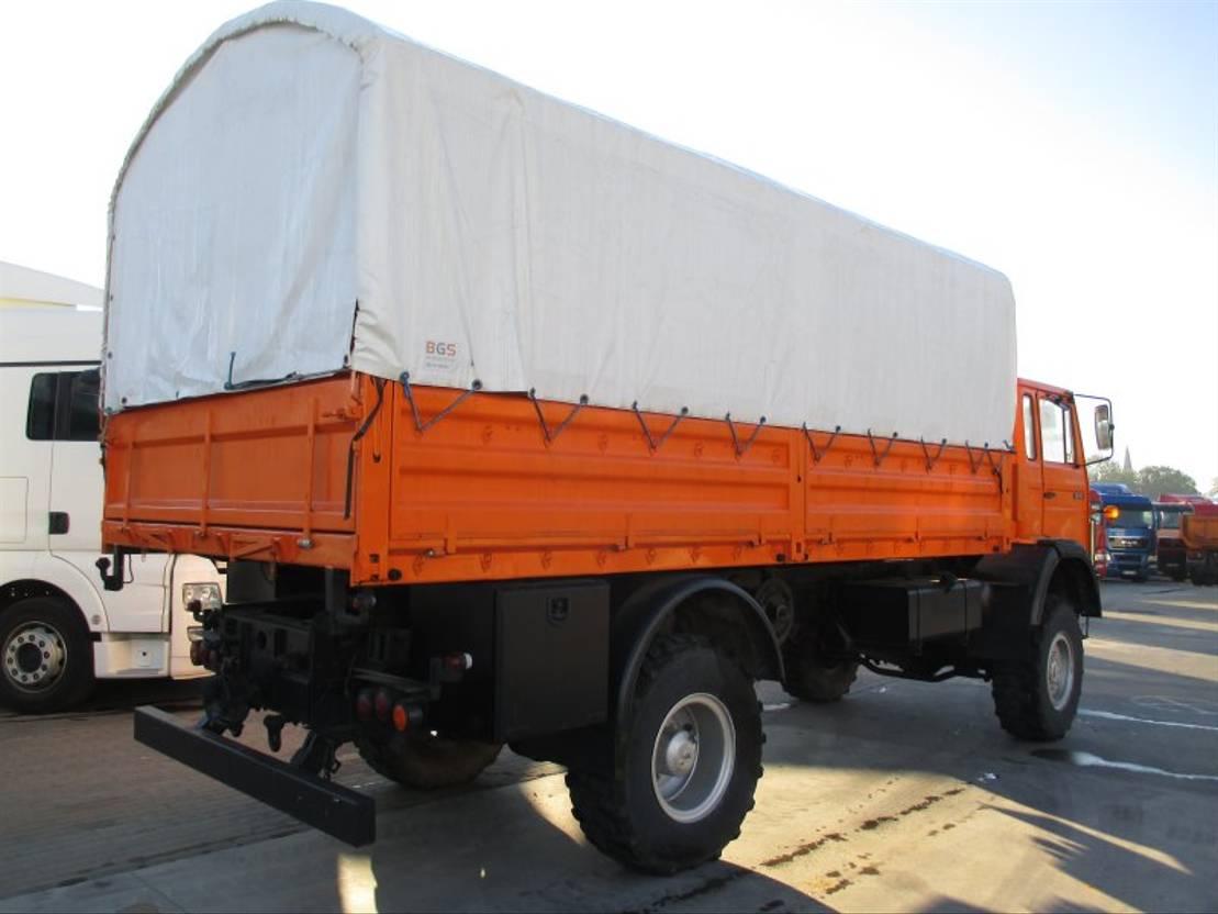 takelwagen-bergingswagen-vrachtwagen Magirus Deutz 168M11FAL (Iveco 110-16)-Service Truck (ref:e38301) 1984