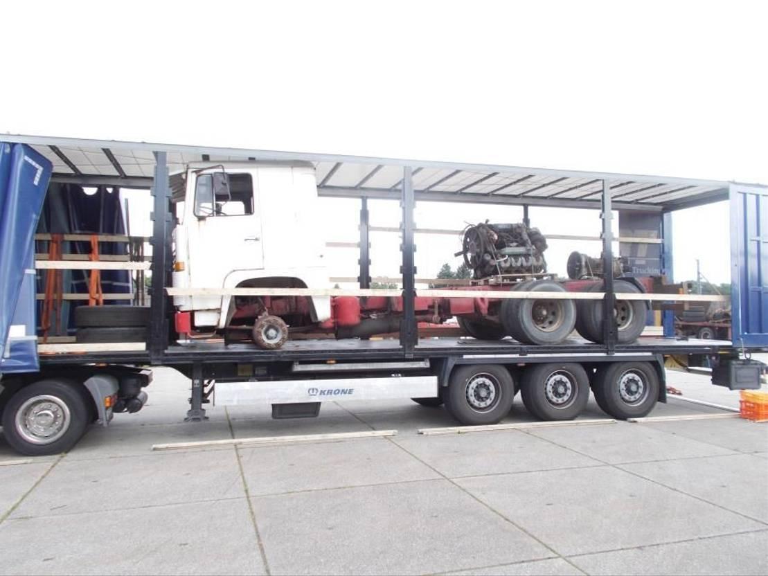 chassis cabine vrachtwagen Scania LBS 111 1978