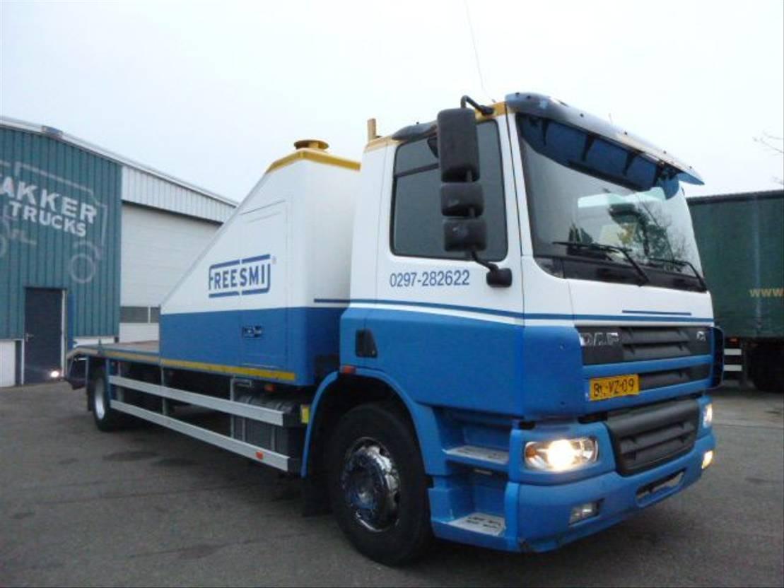 autotransporter vrachtwagen DAF 65CF 220 MANUAL HOLLAND 2002