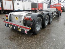 container chassis oplegger Burg 3-assige oplegger 1987