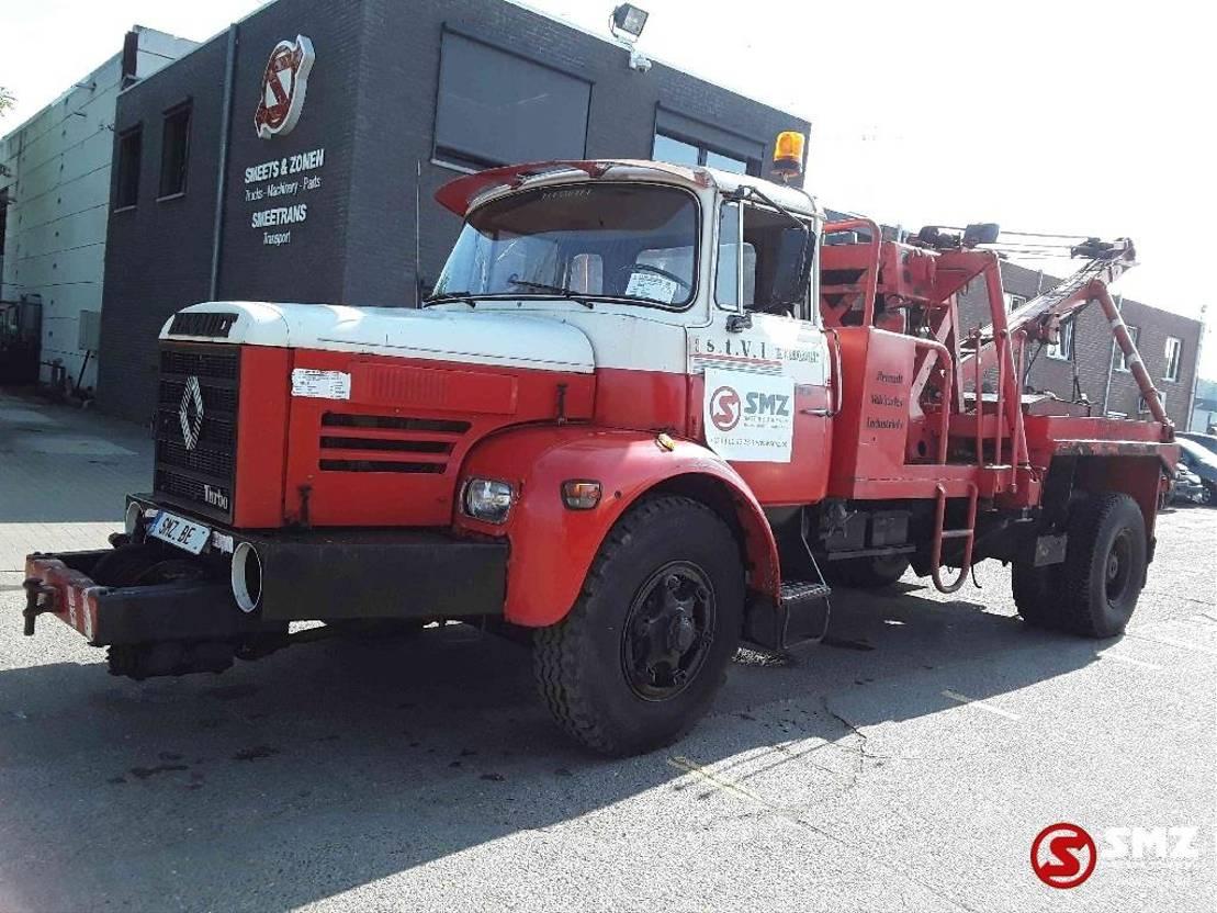 """takelwagen-bergingswagen-vrachtwagen Berliet GLM 10 GBh 260 106""""km 1967"""