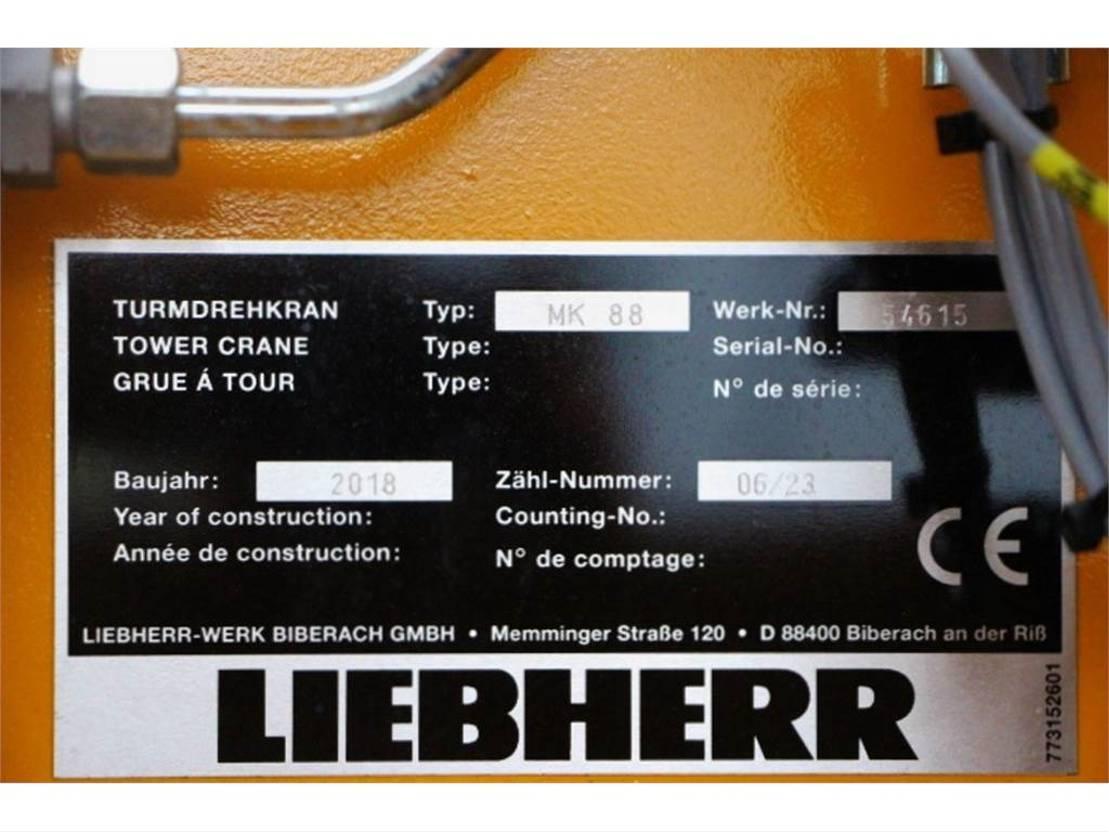 mobiele torenkraan Liebherr MK88 PLUS Valid Inspection, 45 m Flight, 8t Cap, P 2018