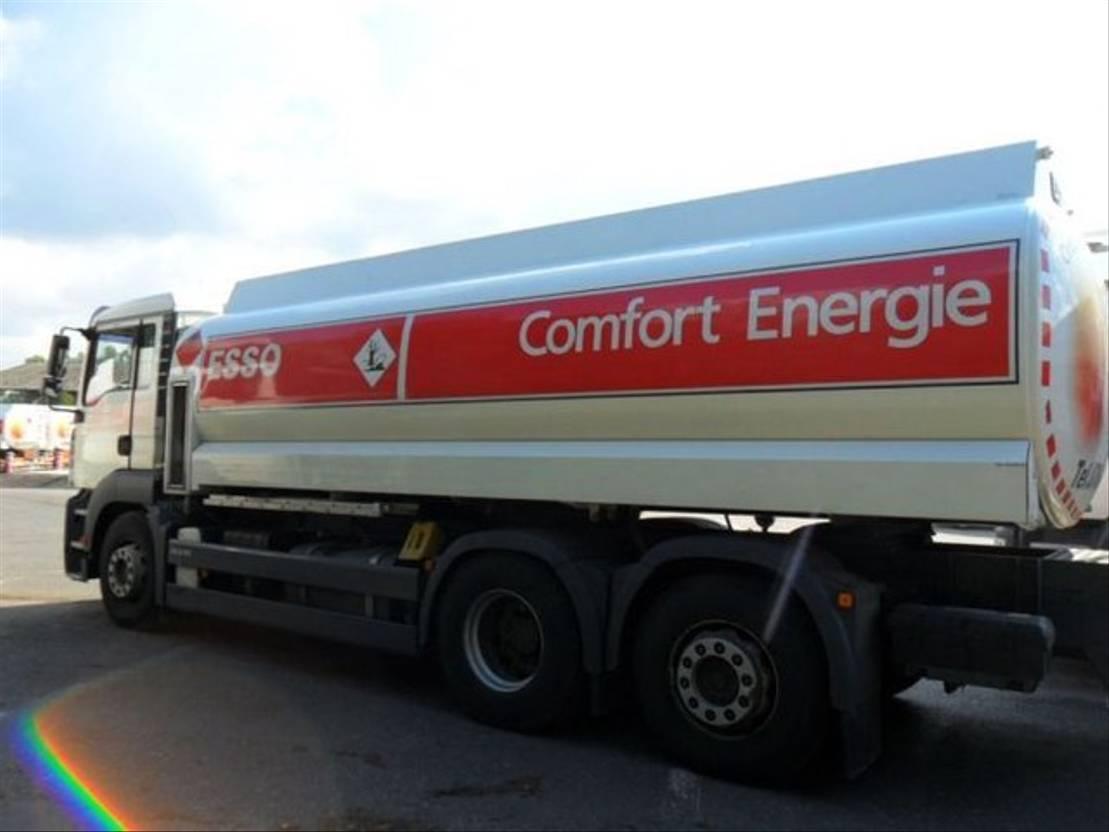tankwagen vrachtwagen MAN D20 - REF 4 2006