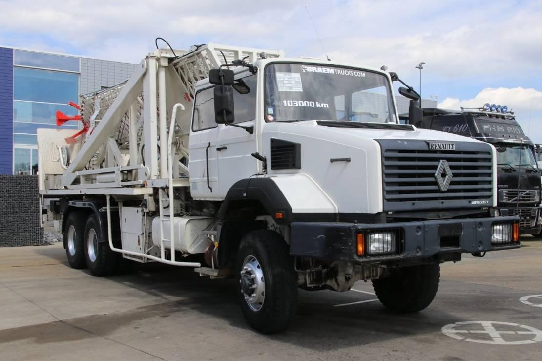 chassis cabine vrachtwagen Renault CBH 320 ( ANTENNE 30M ) 1992