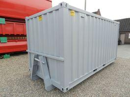 overige containers Winters 15ft op slede/Opslagcontainers