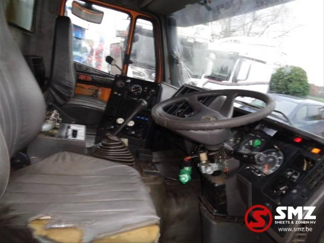 chassis cabine vrachtwagen Mercedes-Benz SK 1820 sweeper 1996