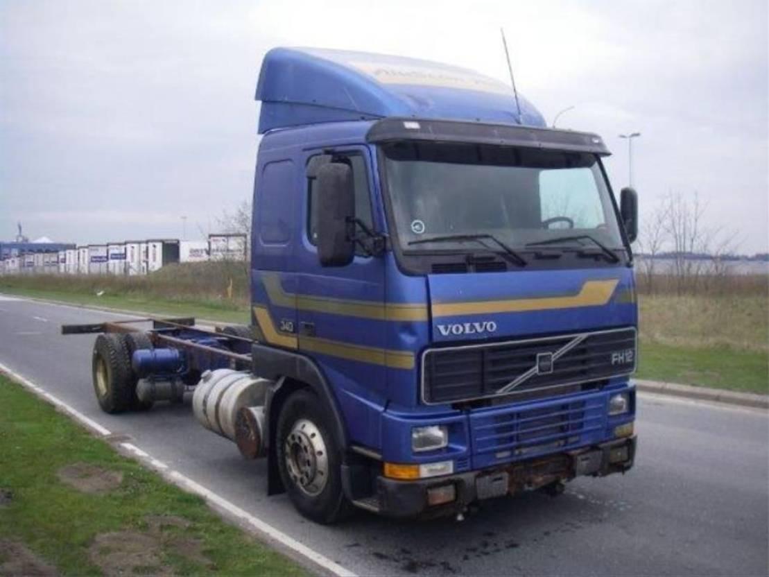 chassis cabine vrachtwagen Volvo FH 12 340 4X2 1996