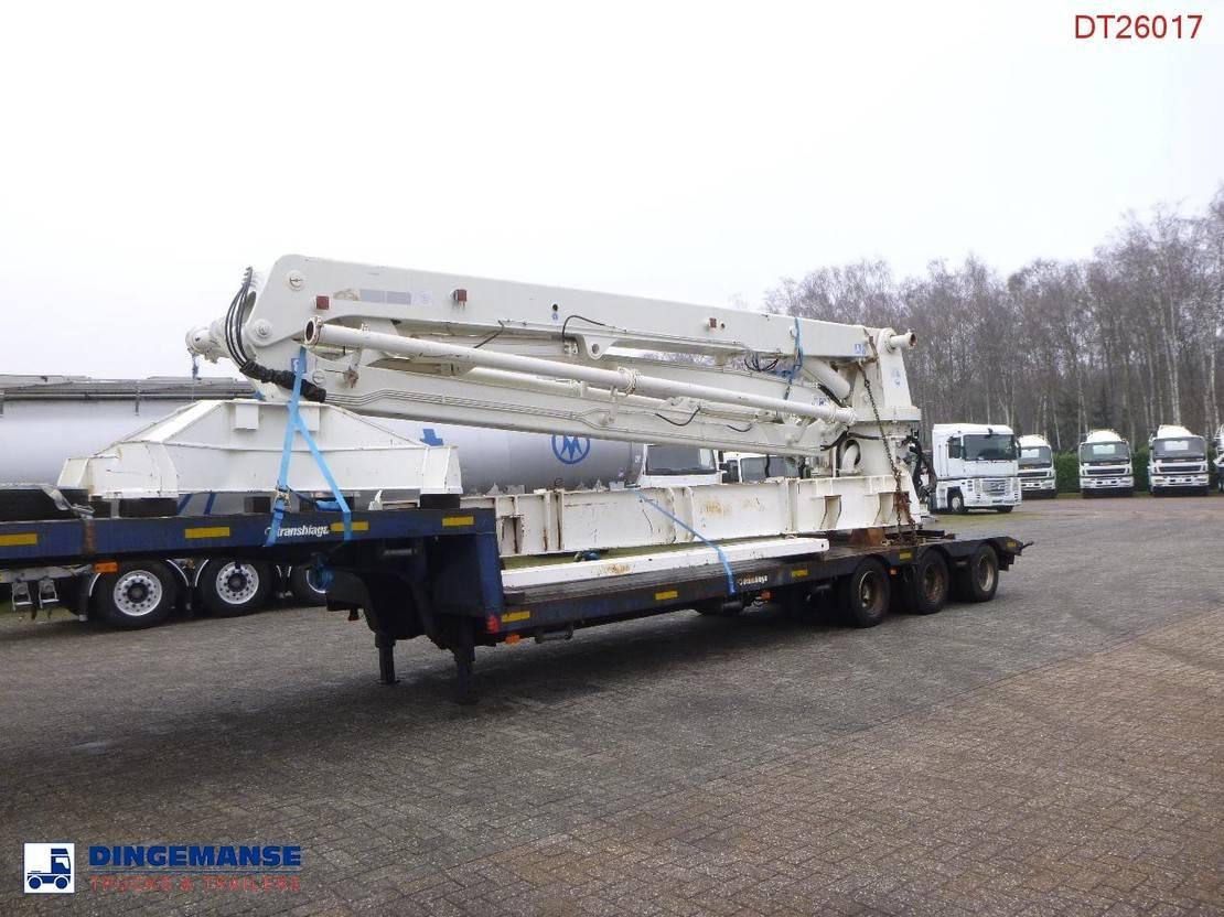betonpomp vrachtwagen Diversen Antonelli Self-climbing tower concrete placing boom AST-29.4/125 2009