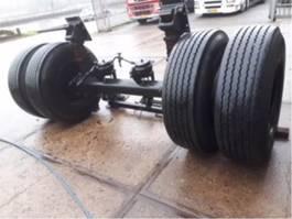 Draagas vrachtwagen onderdeel BPW zwaar bladgeveerde as