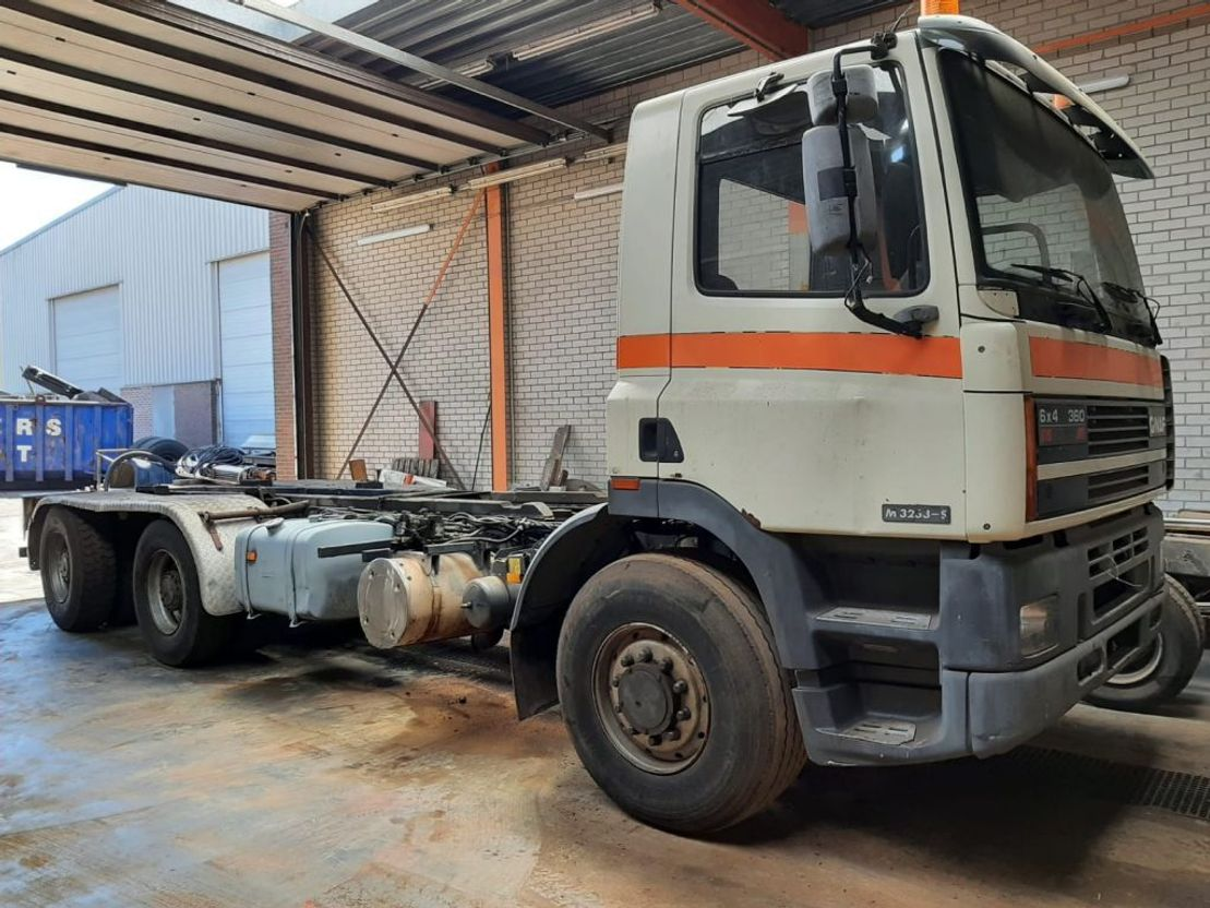chassis cabine vrachtwagen Ginaf M 3233 S ATI 360 1994