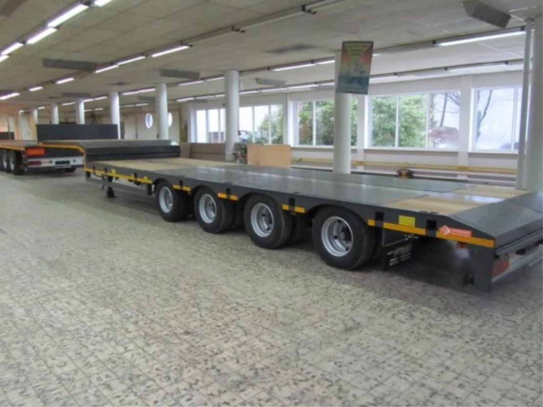 semi dieplader oplegger Lintrailers 4 LSDU 18-40 2021
