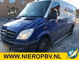gesloten bestelwagen Mercedes-Benz 513CDI gepantserde geldwagen  armored money van airco 2011