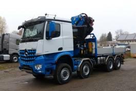kraanwagen Mercedes-Benz 4158 - 8x8 ALLRAD - FASSI F820 2.28 2020