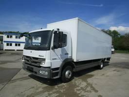 bakwagen vrachtwagen > 7.5 t Mercedes-Benz ATEGO 1222 L Koffer 7,20 m LBW 1,5 T*NL 5,44 to. 2012