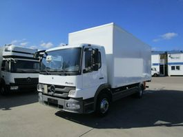 bakwagen vrachtwagen > 7.5 t Mercedes-Benz ATEGO III 1224 L Koffer 6,10 m LBW 1,5 to. 2013
