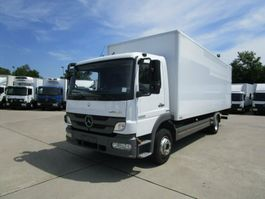 bakwagen vrachtwagen > 7.5 t Mercedes-Benz ATEGO III 1222 L Koffer 7,20 m LBW 1,5 to. 2012