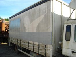 Laadbak vrachtwagen onderdeel Volvo SCHUIFZEILEN.LAADKLEP.GEGALVANISEERD IJZER