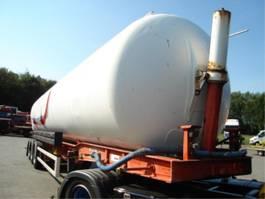 tankoplegger Fruehauf kiepende/bulk/water/ 2005
