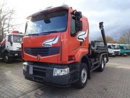 containersysteem vrachtwagen Renault DXI 11-450 Absetzkipper MEILLER *VOLVO-Motor* 2009