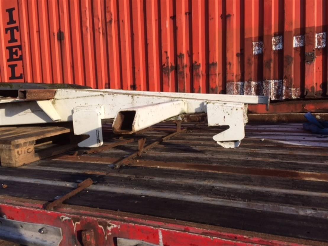 Wisselopbouw vrachtwagen onderdeel Diversen Occ wisselsysteem met koppelschotel 5.00m