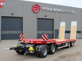 dieplader aanhanger Hangler 4-axle machinery trailer 2.800mm ramps 2020