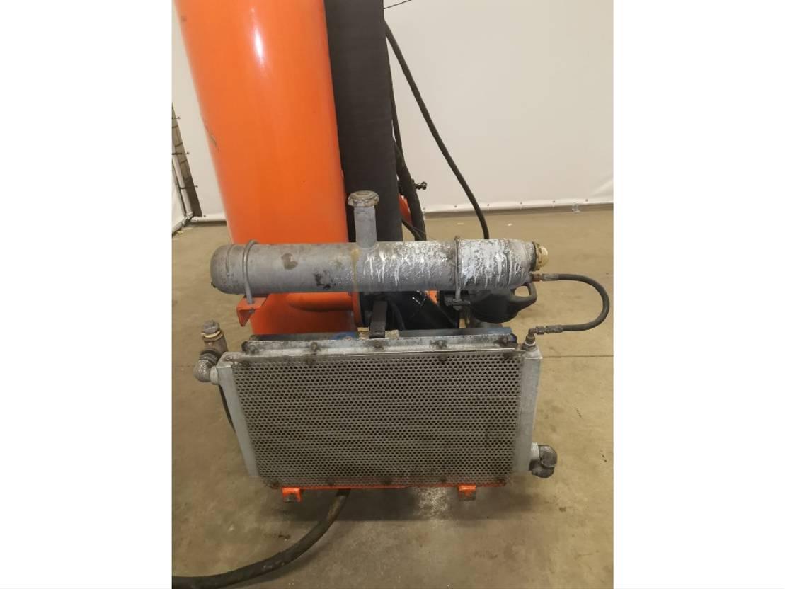 waterpomp machine DIV. Occ Vacuümpomp systeem