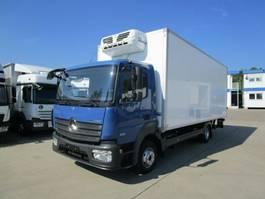 koelwagen vrachtwagen Mercedes-Benz ATEGO IV 818 L Kühlkoffer 6,30 m LBW 1,5 to.*E 6 2014