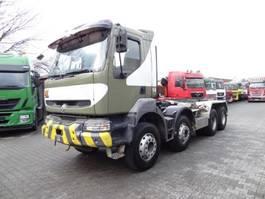 wissellaadbaksysteem vrachtwagen Renault KERAX 420 8X4 2003