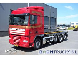 containersysteem vrachtwagen DAF XF 105 510 8X2 | MANUAL 20 ft CONTAINERFRAME 2012