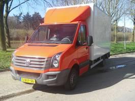 bakwagen bedrijfswagen < 7.5 t Volkswagen CRAFTER bakwagen met hollandia laadklep en zijdeur 2012