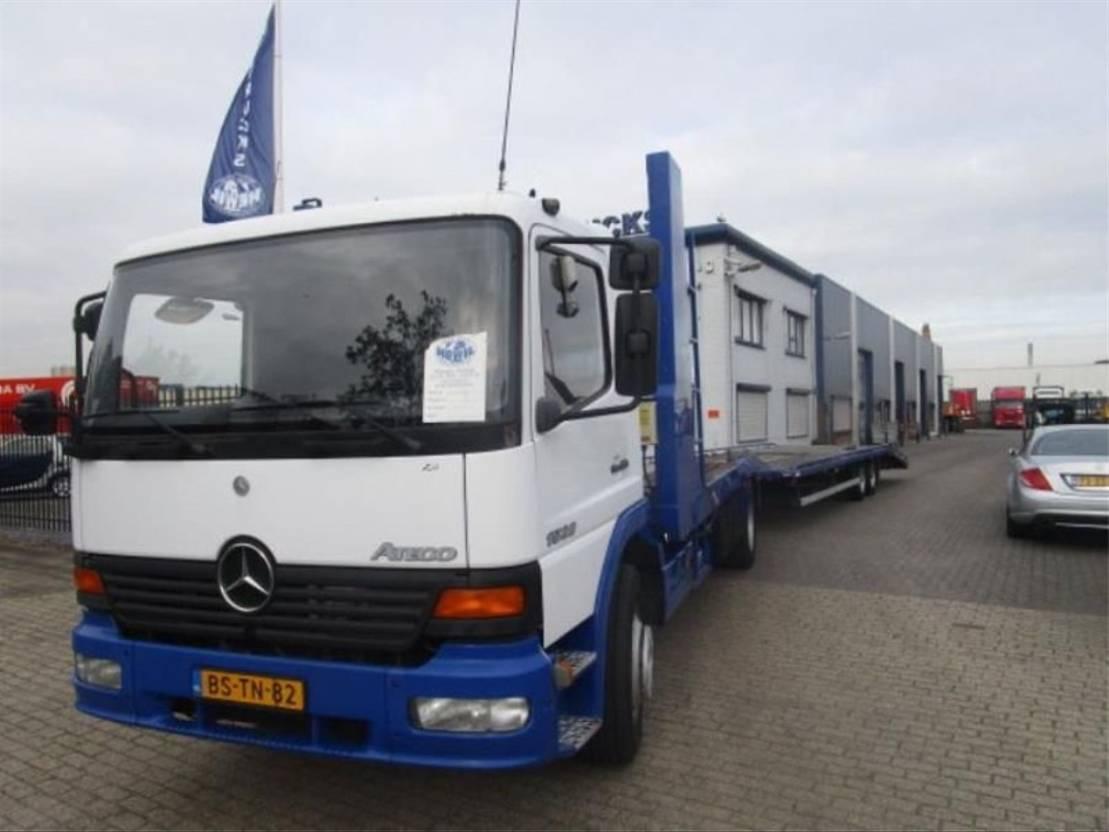 autotransporter vrachtwagen Mercedes-Benz MERCEDES ATEGO 1528 MANUEL-GEARBOX 2000