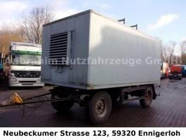 bakwagen aanhangwagen Stromaggregat 6 Zylinder 75KVA ,einsatzbereit