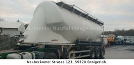 silo oplegger KAESSBOHRER SSL 35, 35 cbm, Liftachse