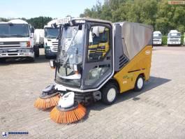 kolkenzuiger vrachtwagen AP plied Sweeper Green machine 636 2009