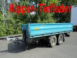 kipper vrachtwagen > 7.5 t Humbaur HTK 10 50 24  Tandem Kipper- Tieflader 2011