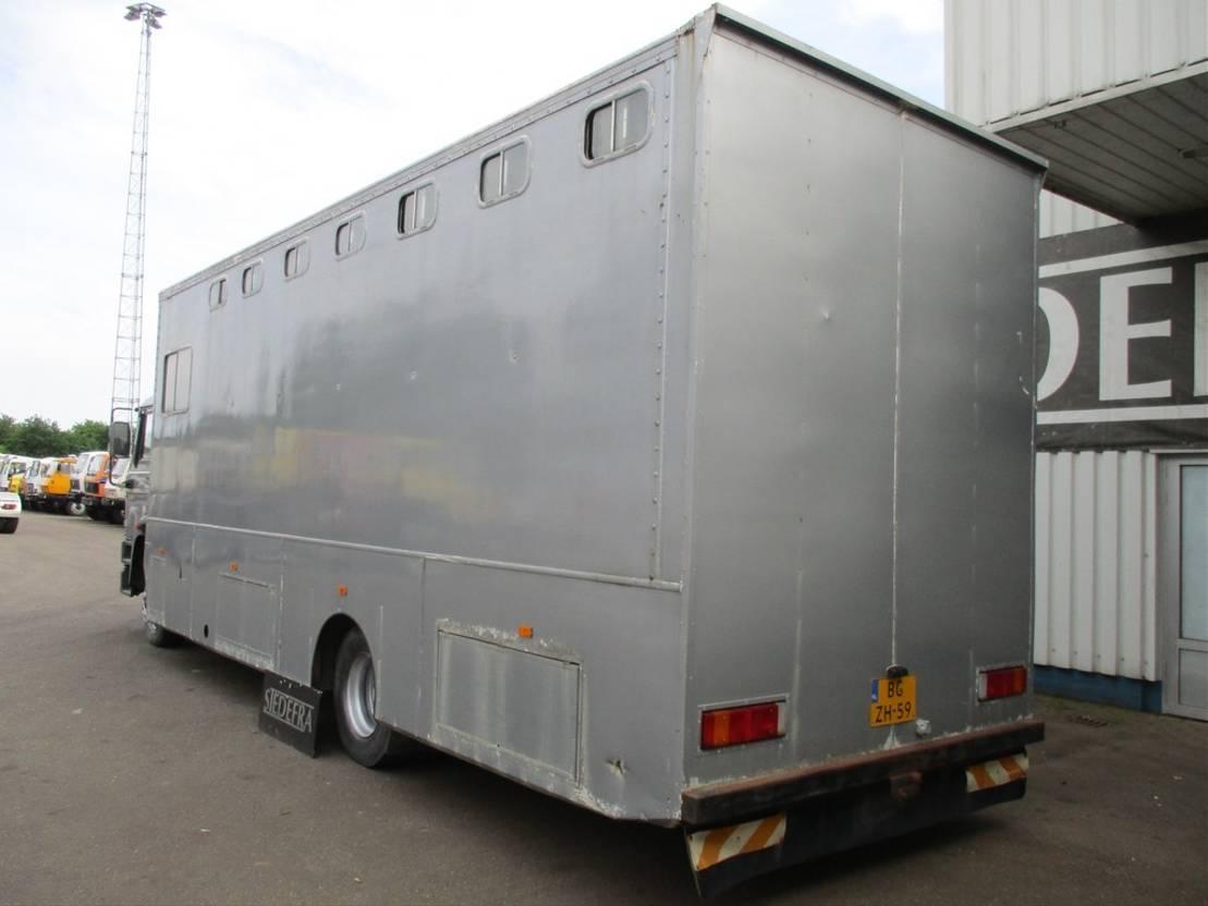 paardenvrachtwagen DAF 1700 , Horse Truck 1987