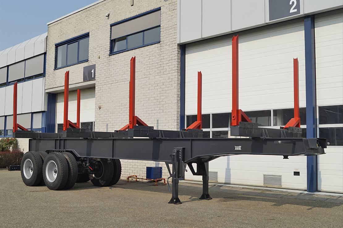 houtoplegger Legras 11M000 2 AXLE LOGGING TRAILER (4 units)