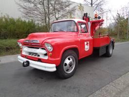 takelwagen-bergingswagen-vrachtwagen Chevrolet 4 TONNER 1954
