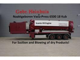 kolkenzuiger vrachtwagen Burg BPDO 17-27 Naaktgeboren Vacu-Press 6500 18 kub capacity! 1988
