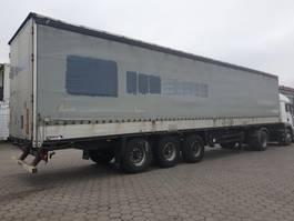 huifzeil aanhanger Schmitz Cargobull Pritsche Plane 2010