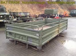 Overig vrachtwagen onderdeel Iveco Pritschenaufbau/ Pritsche 110-17 AW Allrad 1989
