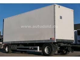 gesloten opbouw aanhanger Lecitrailer Koffer Rolltor Scheibenbremsen BWP-Eco L: 7,70 m 2011