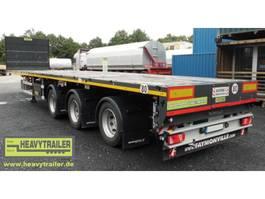 platte aanhanger vrachtwagen Faymonville 3-Achs-Doppel-Tele-Plateau-Auflieger 2016