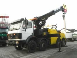takelwagen-bergingswagen-vrachtwagen Mercedes-Benz SK 3535 Pritsche Kran Kran, Brille, Winde etc.