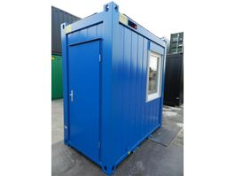 geisoleerde zeecontainer Winters 1,4 x 2,4m - 5ft Bureaucontainers